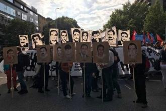 Almanya'da NSU davası kararına karşı gösteriler yapıldı