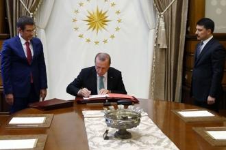 Cumhurbaşkanı Erdoğan, Danıştay'a 4 yeni üye atadı