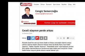 'Yılın skandalı' diyen Semercioğlu'dan şimdi de İntizar'a destek