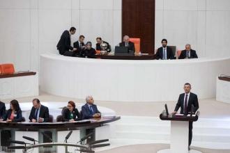 TBMM'de Meclis organlarının seçilmesi önerisi kabul edildi