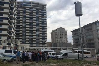 Mamak'ta mahalle sakinleri baz istasyonu kurulmasını engelledi