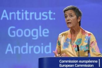 AB'den Google'a 4,3 milyar avroluk 'Android' cezası