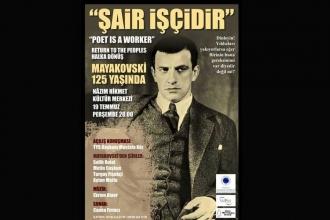Mayakovski'nin 125. yaşı  kutlanıyor