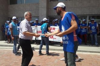 Süperpak işçileri, grevlerine destek istedi