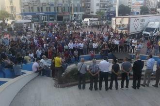 Aliağa'da zehirlenen işçiler için eylem: Taşeron devreden çıkarılmalı