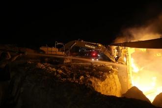 Urfa'da bir iplik fabrikasında yangın çıktı