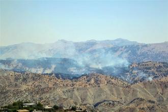 Cudi ve Gabar'daki yangınlar Meclis gündeminde