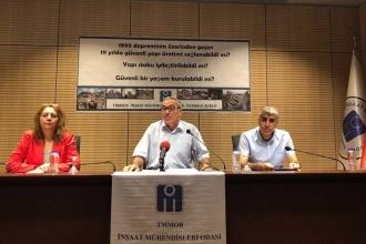İnşaat Mühendisleri Odası: Türkiye ve İstanbul depreme hazır değil