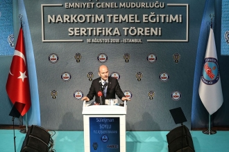 Bakan Süleyman Soylu: Biz olmasak Avrupa'da ayık gezen genç olmayacak