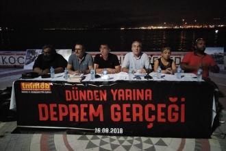 Kocaeli'de deprem paneli: Çözüm bilimsel yaklaşımda