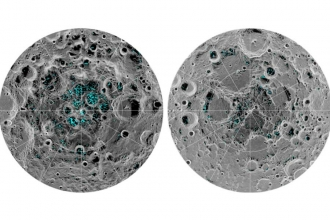 Ay'ın yüzeyinde buz bulundu