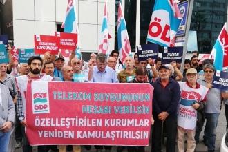ÖDP'den Telekom soygununa karşı eylem: Sorumlular hesap versin