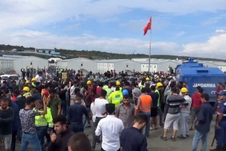 24 workers arrested over protests at new İstanbul airport site