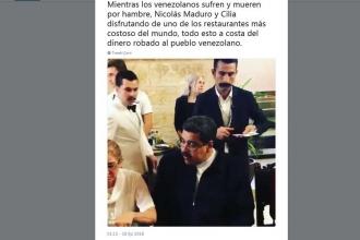 Venezuela Devlet Başkanı Maduro'nun Nusr-Et'te yemek yemesine tepki