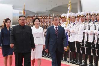 Pyongyang'daki tarihi Kore zirvesi sürüyor