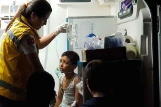 Ahşap evde çıkan yangında mülteci 2 çocuk yaşamını yitirdi