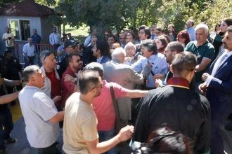 Ankara'da avukatların açıklamasına engelleme