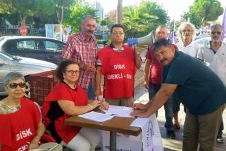 Emekli-Sen'den zam yağmuruna karşı imza kampanyası