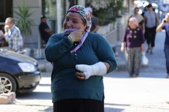 Kornayı duymayan işitme engelli kadını dövüp kolunu kırdılar