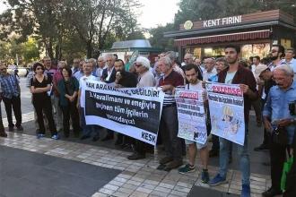 Kayseri'de 3. Havalimanı işçilerine destek eylemi