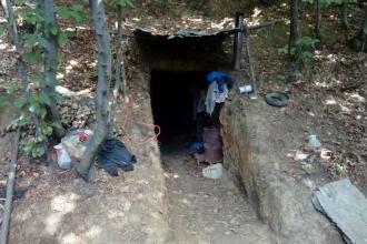Zonguldak'ta kaçak olarak faaliyet yürüten maden ocağında göçük