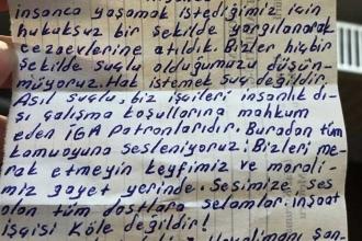 Tutuklu 3. havalimanı işçilerinden mektup: Hak istemek suç değildir