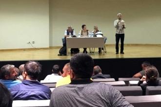 Ataşehir Belediyesi işçileri panelde buluştu