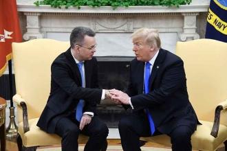 'Brunson serbest kalmasaydı, ABD diplomatik personeli çekecekti'