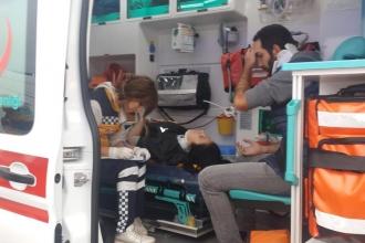 Kocaeli'de işçileri taşıyan servis kaza yaptı: 16 yaralı