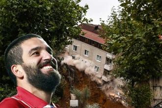 Sütlüce'de çöken binanın sakinlerinden Arda Turan için suç duyurusu