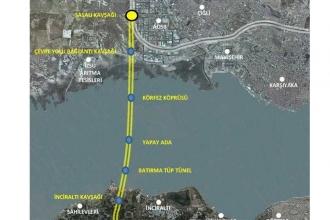 İzmir Körfez Geçiş Projesinin iptali için açılan dava görüldü