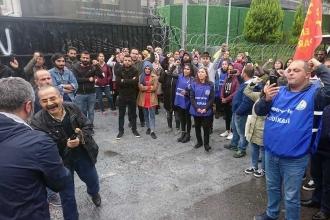 Emek Partisi'nden Flormar'a dayanışma ziyareti