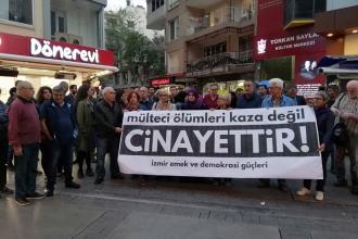 İzmir Emek ve Demokrasi Güçleri: Mülteci ölümleri kaza değil cinayet!