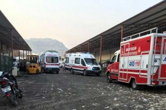 Tekstil atölyesinin duvarı çöktü: 2 işçi öldü, 3 işçi yaralı