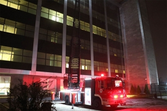 Samsun'da Ruh Sağlığı ve Hastalıkları Hastanesi'nde yangın çıktı