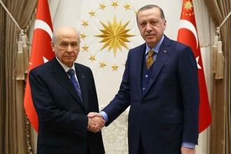Erdoğan ve Bahçeli'nin ittifak görüşmesi yarın 16.00'da