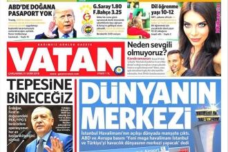 Vatan Gazetesi bugünden itibaren yayınını dijital ortamda sürdürüyor