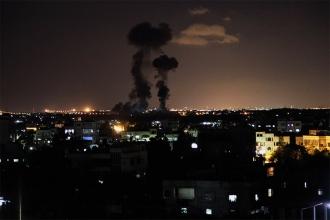 İsrail'den Gazze'ye hava saldırısı: 3 ölü, 9 yaralı