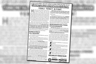 Türk metal yöneticileri, bildiri dağıtan EMEP üyelerini darbetti