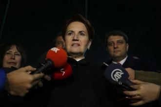 Akşener: Ankara'yı illa 'İYİ Parti alsın' diye bir tavrımız yok