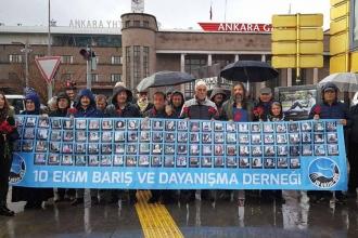 10 Ekim Ankara Katliamı'nın 38'inci ayı