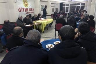Kayserili KESK üyeleri Adana'daki bölge mitingi için çağrı yaptı