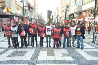 Krize Karşı Platform, imza kampanyası başlattı