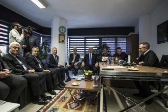 Kılıçdaroğlu, Sözcü'yü ziyaret etti: İçimize sinmiyor