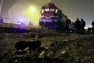 Çankırı'da trenin altında kalan kişi öldü