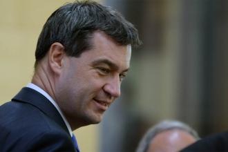 Almanya'da CSU'nun yeni genel başkanı Söder oldu