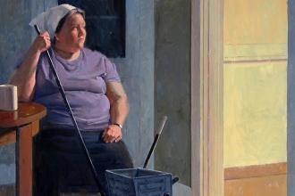 Artemis'te işçi, evde hizmetçi
