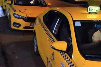 İçişlerinden yeni genelge: Taksilerin trafiğe çıkış saatleri sınırlandırıldı
