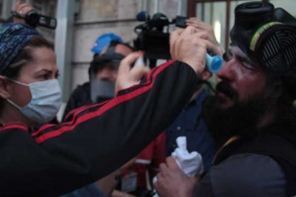 Constitutional Court decided violation of rights for journalist Erdal İmrek who was hit by police