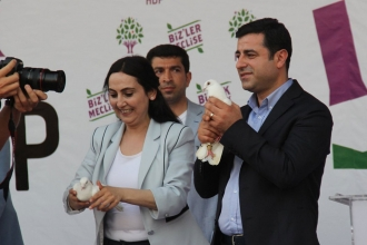 Detention order for Yüksekdağ and Demirtaş whose offset application had been granted
